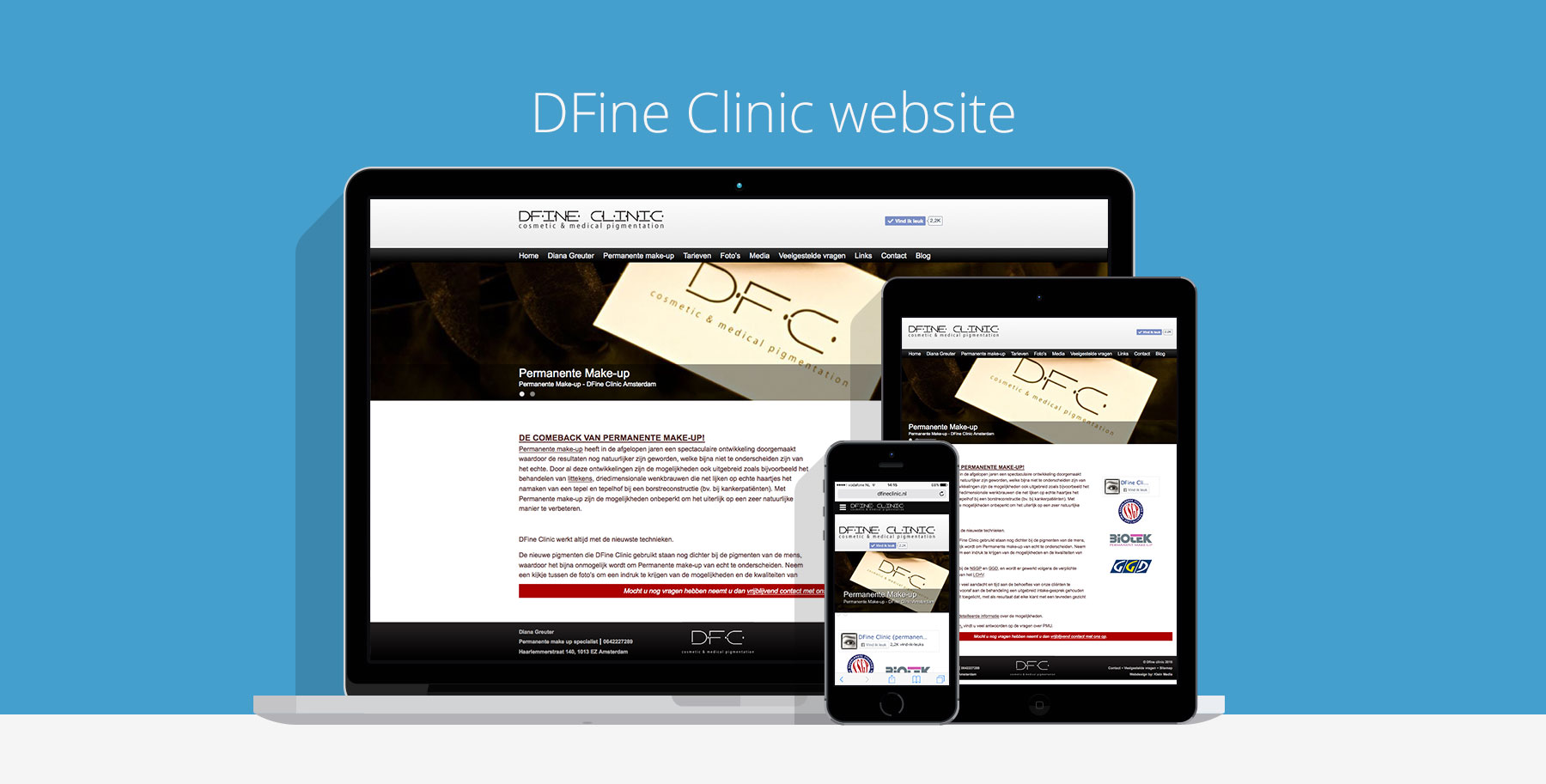 dfine clinic permanente make up website